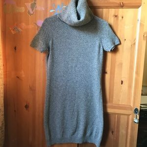 ⭐️Benetton Gray Wool Turtleneck Sweater Dress